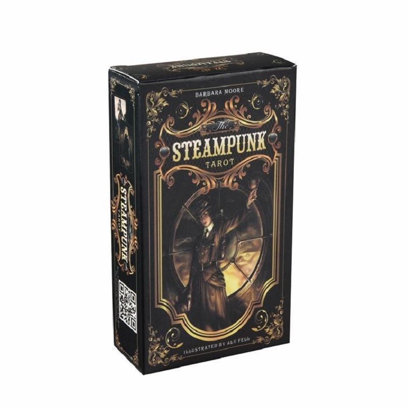The Steampunk Tarot Tarot Game Card English Tarot cards Oracle Board Game Tarot Cards Table Games недорого