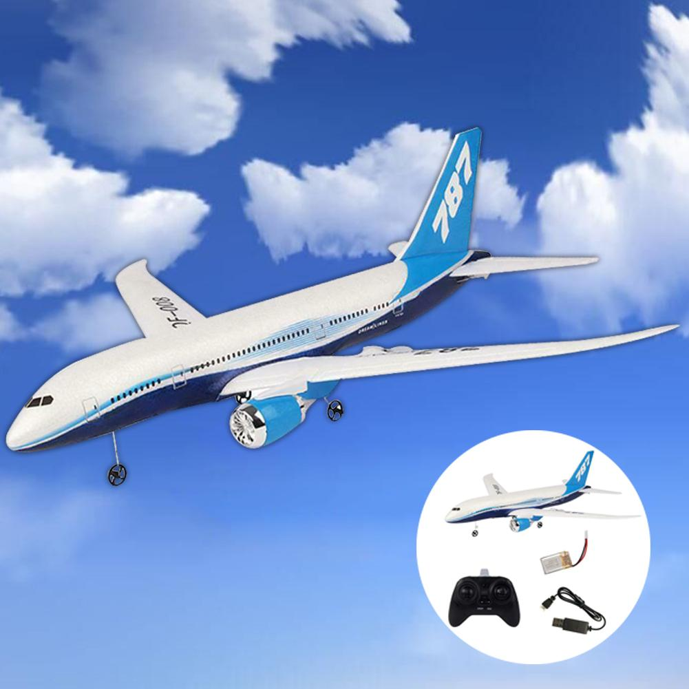DIY Remote Control Aircraft EPP RC Drone Boeing 787 2.4G 3Ch RC Airplane Fixed Wing Plane For Kid Bo