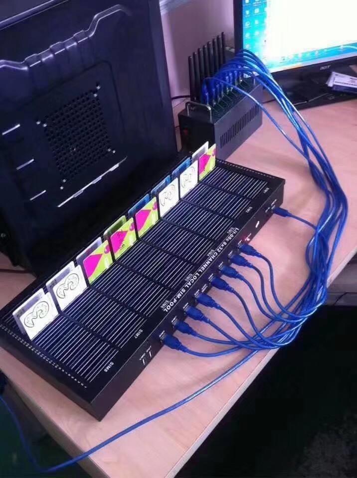 Novo banco 128 do sim, slot grande do banco 128 do cartão do sim que trabalha com a associação do modem da g/m para sms maiorias que envia/recebe