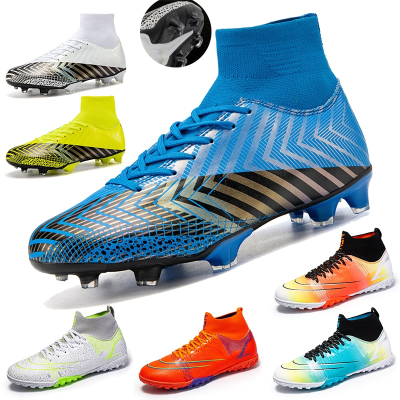Men's Large Football Shoes Rugby Non-slip Shoes Rugby Ankle Boots Youth Training Sports Shoes Youth Indoor Sports Shoes Unisex