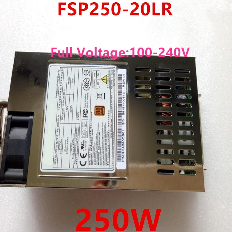 Nova FONTE de ALIMENTAÇÃO Para FSP FSP250-20LR DS600-G10 250W fonte de Alimentação