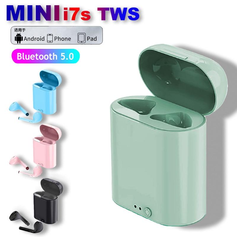 i7s TWS Bluetooth Earphones Mini Sports Headset Waterproof Earbuds Music Earpieces For Huawei Iphone