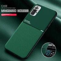 magnet case for xiaomi mi 10t lite 10 pro mi 11 case poco x3 nfc f3 silicon cover for xiomi redmi note 10 pro max 10s bumper