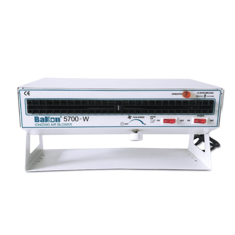 Desk BK5700-W horizontal ion fan Benchtop Ionizers Eliminate Static FRP DC Industrial Ionizing Air Blower