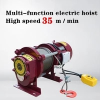 380v multi function electric hoist high speed 35 mmin small crane small electric hoist lifting weight 400kg to 800kg