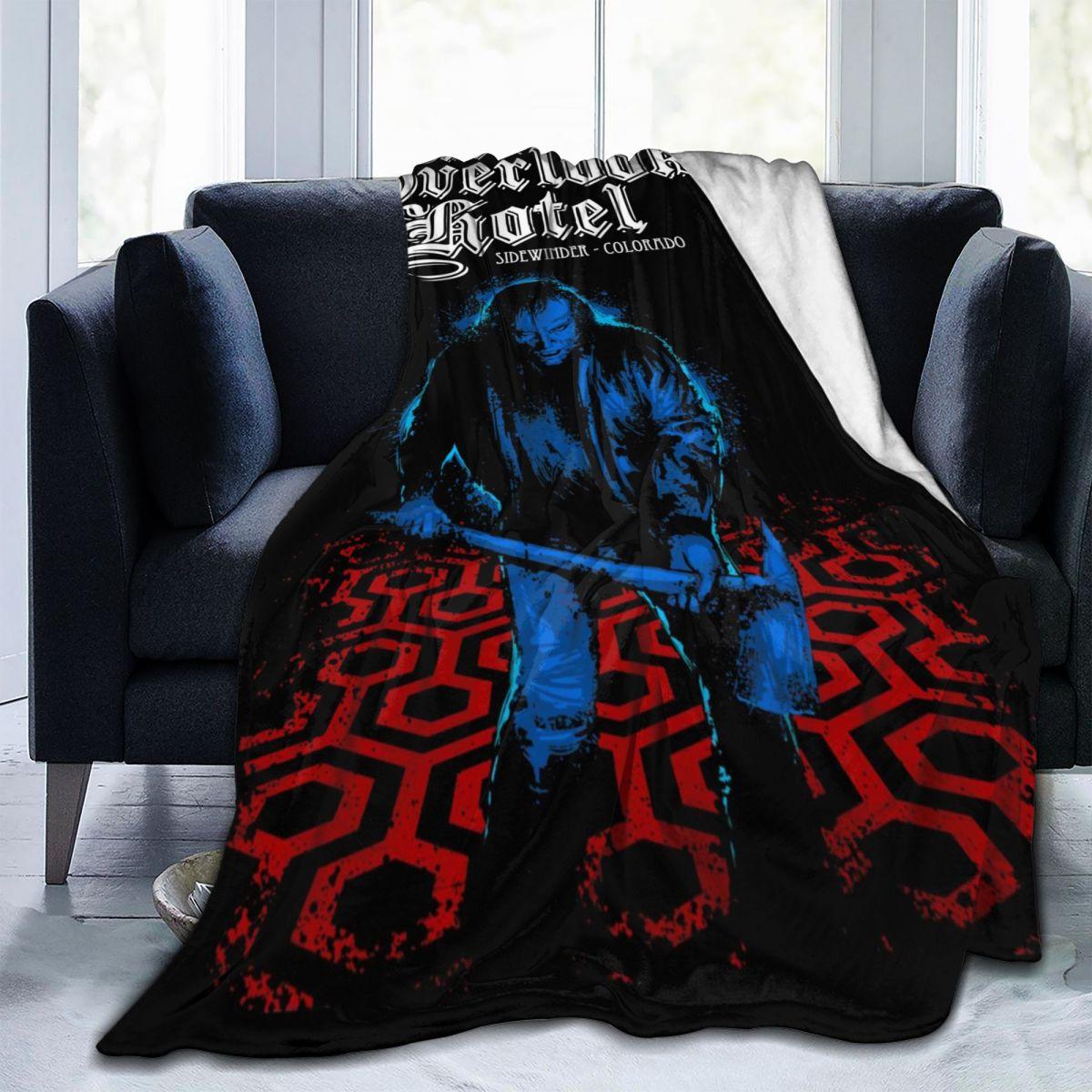 أفلام الرعب مشرقة جاك تورنس أغفل فندق بطانية مريحة لينة الصوف بطانية رمي