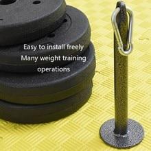 Bilanciere rack di Carico-cuscinetto di peso-cuscinetto campane vassoio vassoio di formazione muscolo del braccio dispositivo di addestramento attrezzature per il fitness