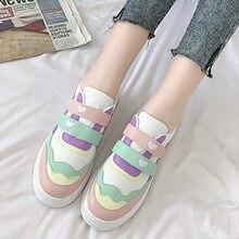 Zapatos japoneses de lolita, zapatos planos de cabeza redonda con diseño de fresa, zapatillas de niña kawaii, zapatos kawaii loli cos, zapatos vulcanizados