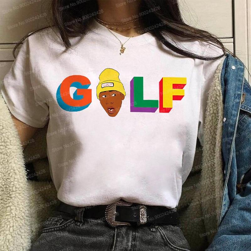 "Camiseta de Tyler The Creator para mujer, camiseta de Golf Wang, camisetas con el lema ""Vote Igor"", camiseta de Save the bees a la moda, ropa coreana gráfica de Hip Hop"