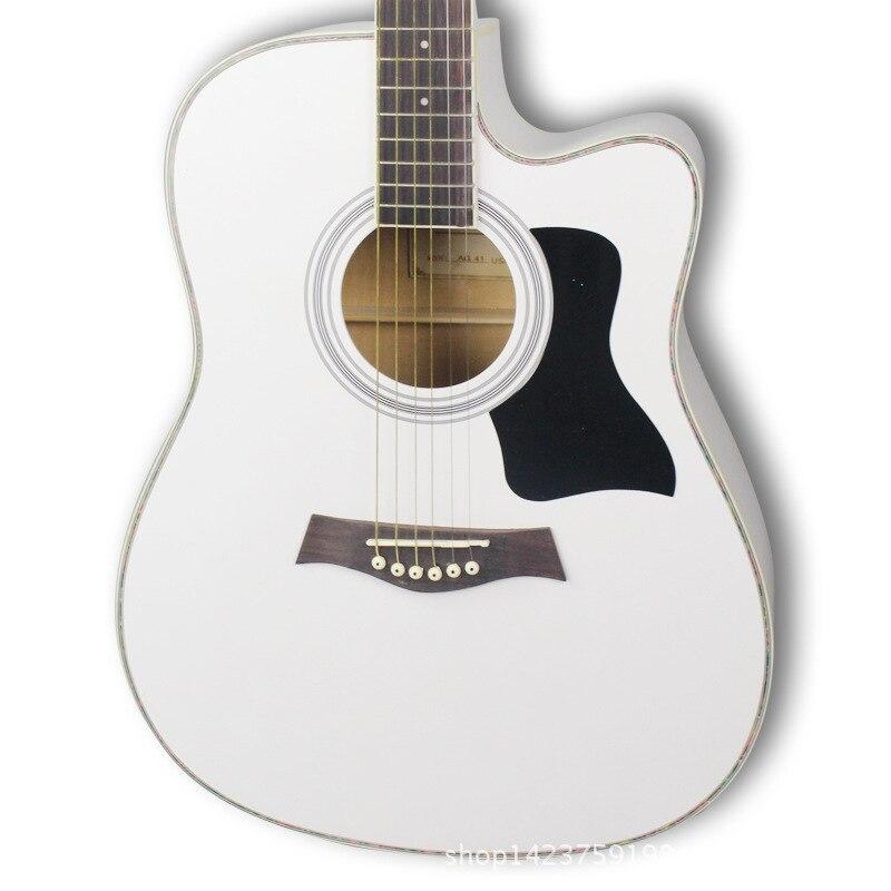 Linden Travel Guitar Vintage High Quality Hollow Body Guitar Neck Acoustic Cuerdas Guitarra Acustica Musical Instruments DE50JT enlarge