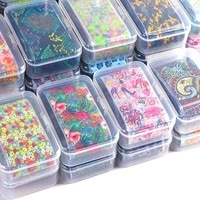 1 box nail art transfer foil sticker decal nails designer decoeation set diy sliders for manicure nail wraps