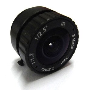"x4pcs HD 1/2.5"" 3MP  2.8mm CCTV Lens CS mount IR wide angle 115 degrees for IP Camera"