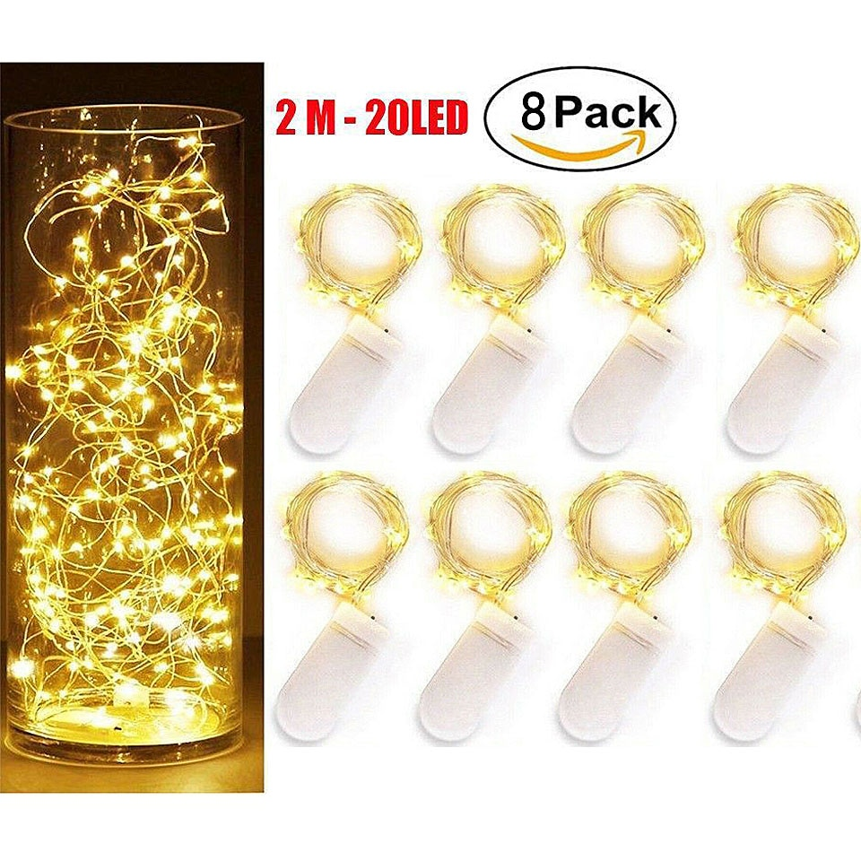 photo clips led string lights 1m 2m 5m 10m usb fairy garland lights battery powered light for christmas wedding party decoration 8Pack LED String Lights 1m/2M/5M Fairy Lights Outdoor Battery inside Operated Garland Christmas Decoration Party Wedding Xmas