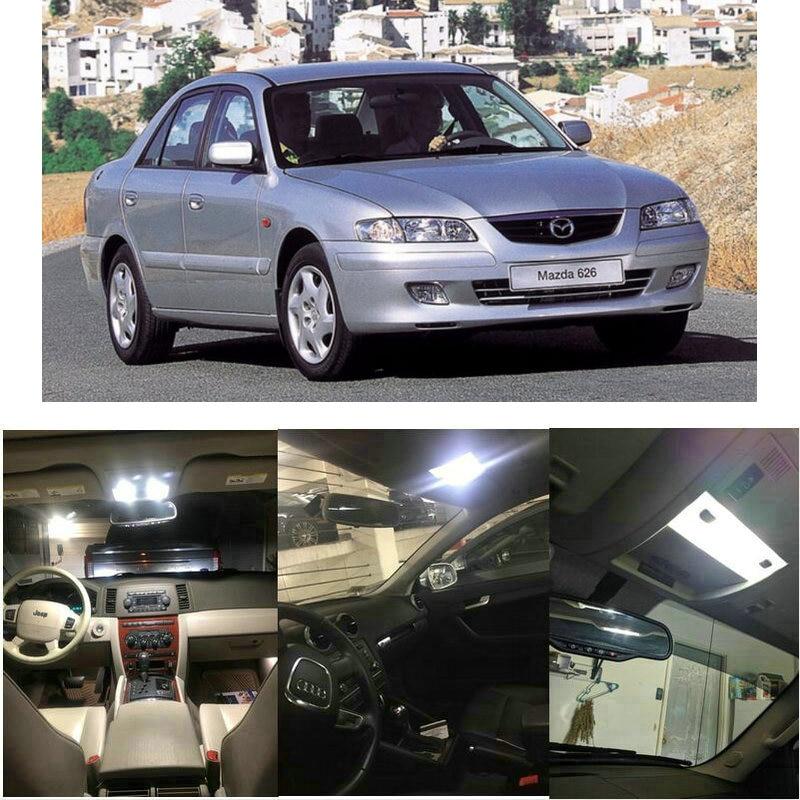 Interior Led lights For 2002 Mazda 626 Millenia MPV Protege Tribute Dome Light Map Light License plate light