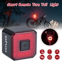 smart bicycle light rear taillight rechargeable smart brake sensing light waterproof bike light bicycle accessories