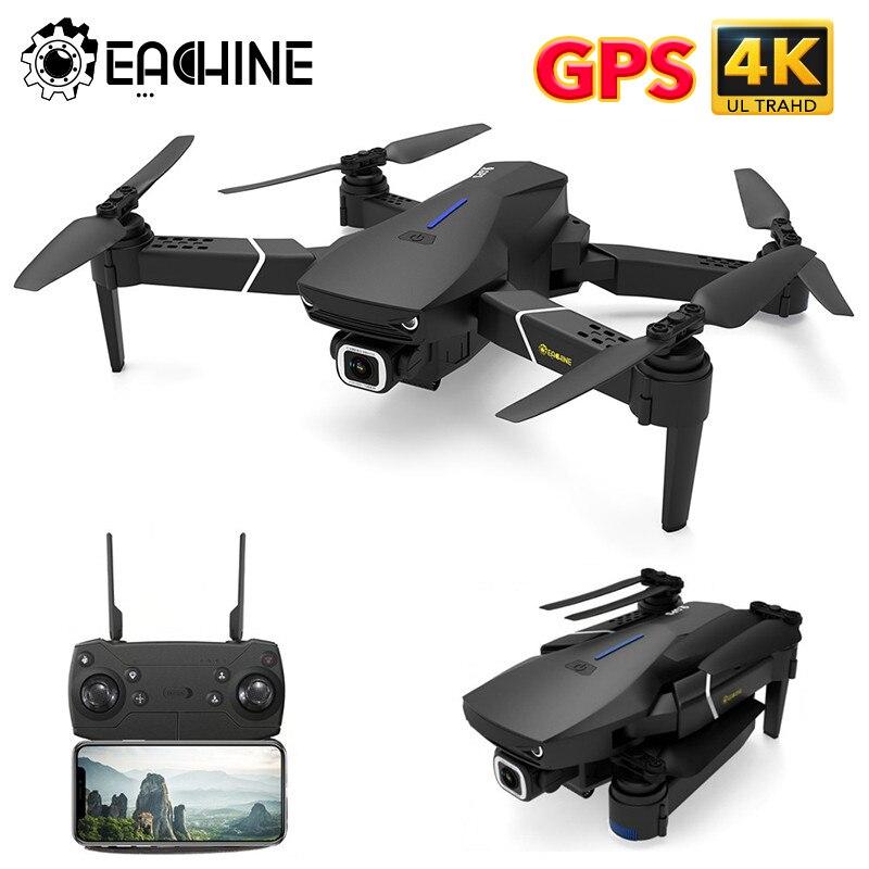 Eachine E520S E520 GPS בצע לי WIFI FPV Quadcopter עם 4K/1080P HD רחב זווית מצלמה מתקפל אחיזת גובה עמיד RC מזלט