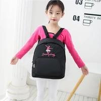 girl dance bag for girls dance ballet bag for girls baby children ballerina bag gymnastics backpack kid embroidered school bag