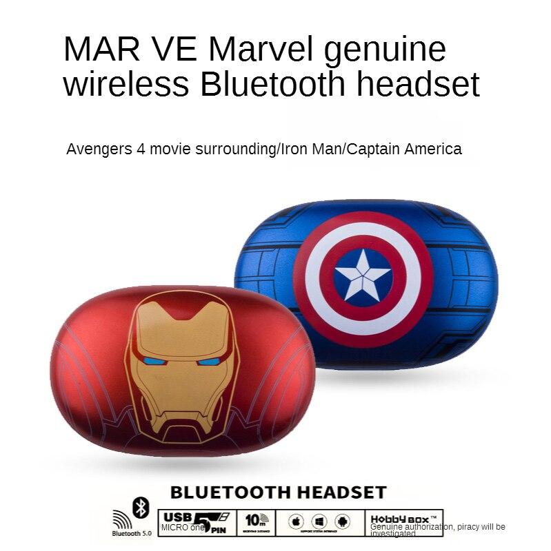 Disney  headphones blutooth wireless noise reduction headphones with microphone for iPhone, Xiaomi Iron Man headphones gamer enlarge