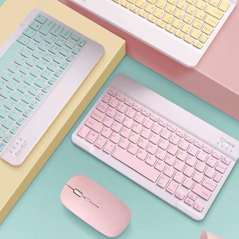 المحمولة اللاسلكية بلوتوث لوحة المفاتيح لباد سامسونج شاومي أندرويد اللوحي 7.9 بوصة العالمي بلوتوث لوحة المفاتيح الماوس مجموعات