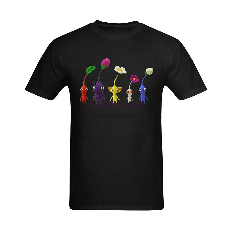 2019 definir-me homem pikmin 2 pikmin desenho dos desenhos animados t camisa