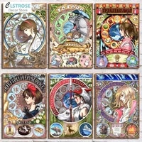 5d diy diamond painting japanese anime character full diamond embroidery animation collection rhinestone mosaic picture artwork