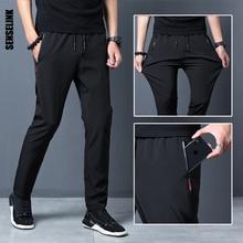 2021 חדש גברים מכנסיים חובבי ריצת כושר מזדמן צמר חיצוני מכנסי טרנינג לנשימה Slim גמישות מכנסיים בתוספת גודל גברים מכנסיים