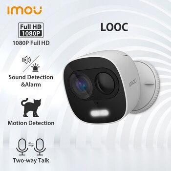 Dahua imou LOOC 1080P IP65 Waterproof IP Camera Wifi Camera Wireless Home Security Cameras Surveillance Camera