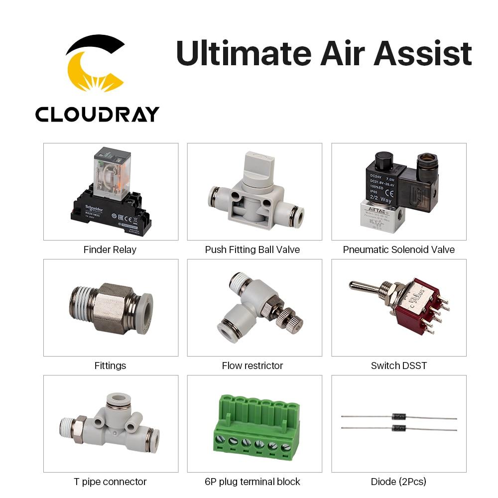 Cloudray-مجموعة حمالة الصدر ، لآلة القطع بالليزر CO2