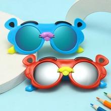 New Kids Sunglasses Children Round Bear Sun Glasses Girls Boys Baby Sport Shades Glasses UV400 Eyewe