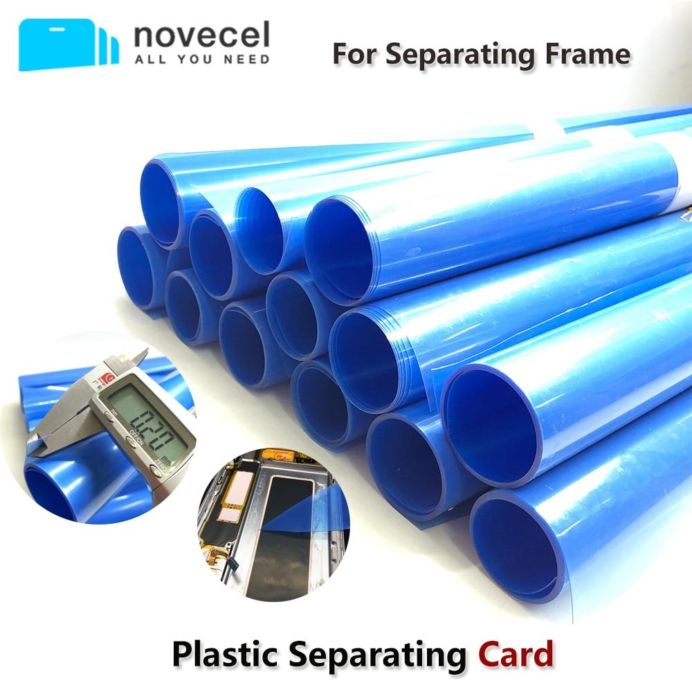Tarjeta de plástico para Samsung Edge pantalla marco medio separando sin roturas cuando la temperatura llega a-150 herramientas de reparación móvil