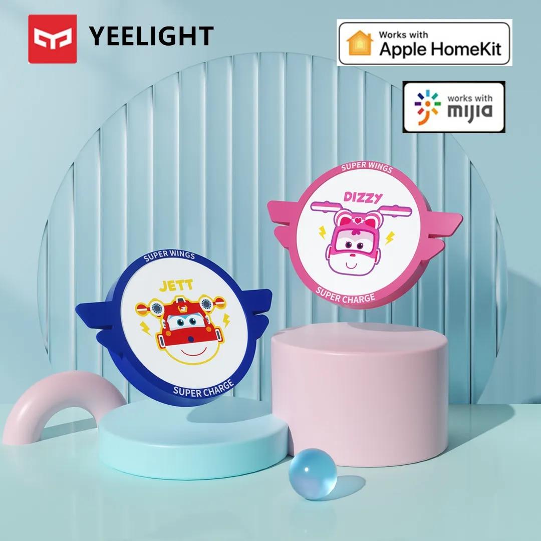 Yeelight – plafonnier LED Super wings, 32W, anti-poussière, avec application Mi home et télécommande Mobile, compatible Apple Homekit