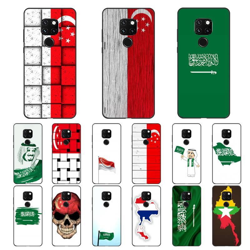 Babaite singapura arábia saudita flay telefone caso casco para samsunga30 s 40 s8 20 huaweinova7pro 8x p30lite honra 10i redminote8pro