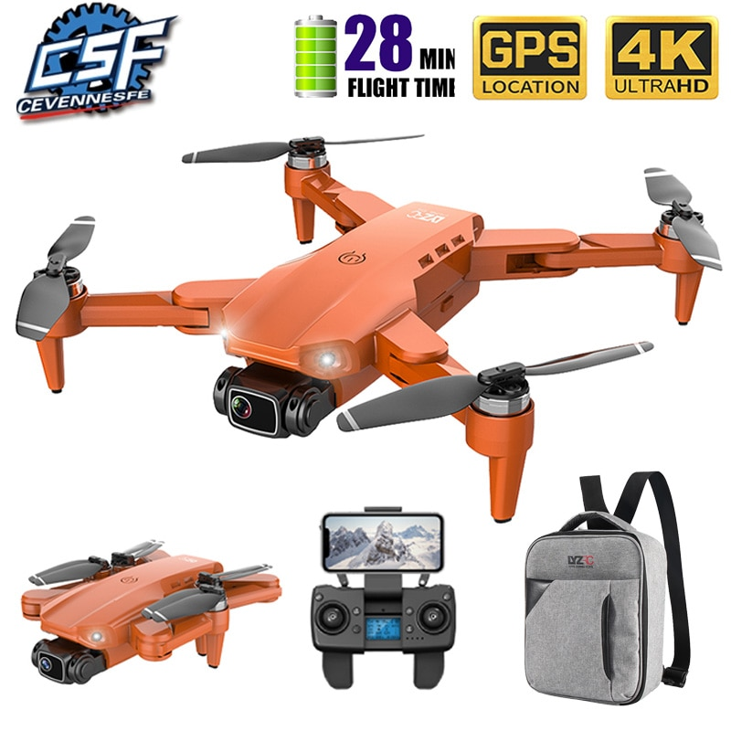 2020 NEW L900 Drone 5G GPS 4K with HD Camera FPV 28min Flight Time Brushless Motor Quadcopter Distance 1.2km Professional drones
