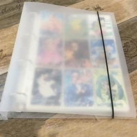 Big Mac 360 Capacity Cards Holder Albums with 20 Page for Board Game Star Celebrity Card Photo Collect Album Book Sleeve Holders