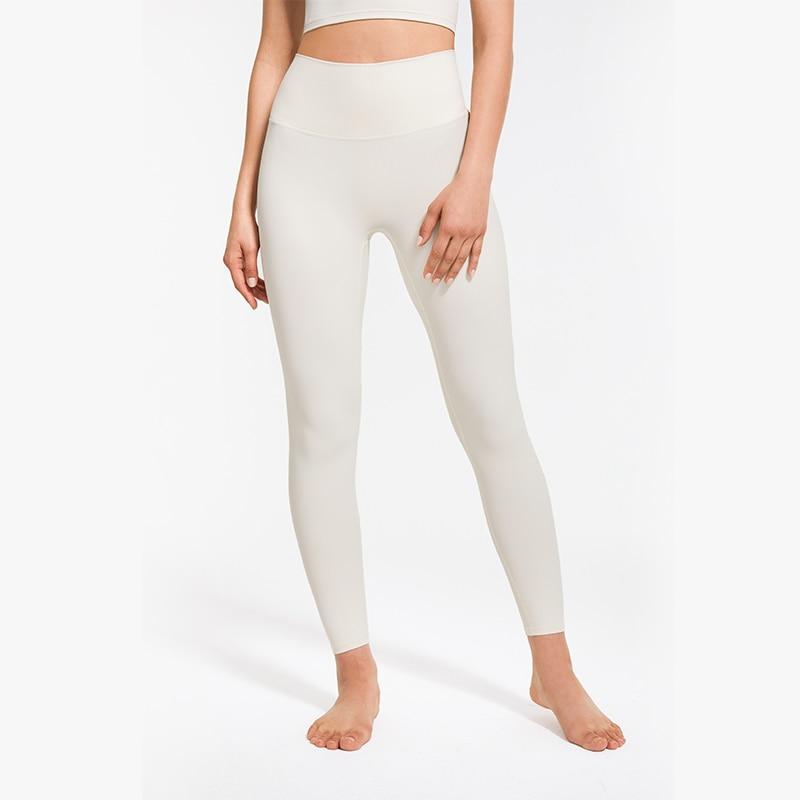 SEVEN SKIN Yoga Leggings for Fitness Women Gym Sports Pants High Waist Seamless Ribbing Leggings Classic Running Workout Tights