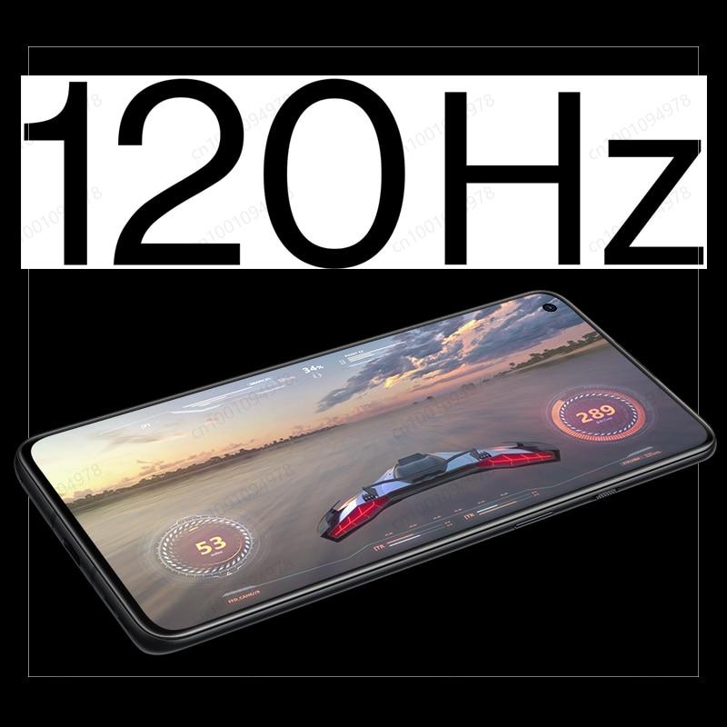Фото2 - Смартфон OnePlus 9R, телефон с глобальной прошивкой, экран 9 R, процессор Snapdragon 870, 8 ГБ, 128 ГБ, экран AMOLED 6,55 дюйма 120 Гц, 65 Вт, Официальный магазин OnePlus ...