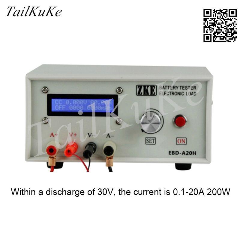 EBD-A20H الإلكترونية تحميل ، قدرة البطارية اختبار ، اختبار إمدادات الطاقة ، نموذج الطاقة تفريغ البطارية AC
