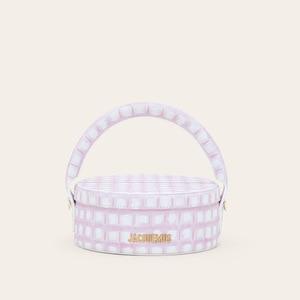 NEW Leather Round Handbag With Metal Women Fashion Zipper Pouch Crossbody Shoulder Bag Luxury Women Handbag And Purse