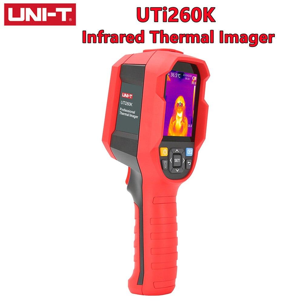 UNI-T UTi260K الأشعة تحت الحمراء الحرارية تصوير باليد جسم الإنسان أداة القياس درجة الحرارة الكمبيوتر في الوقت الحقيقي نقل الصور
