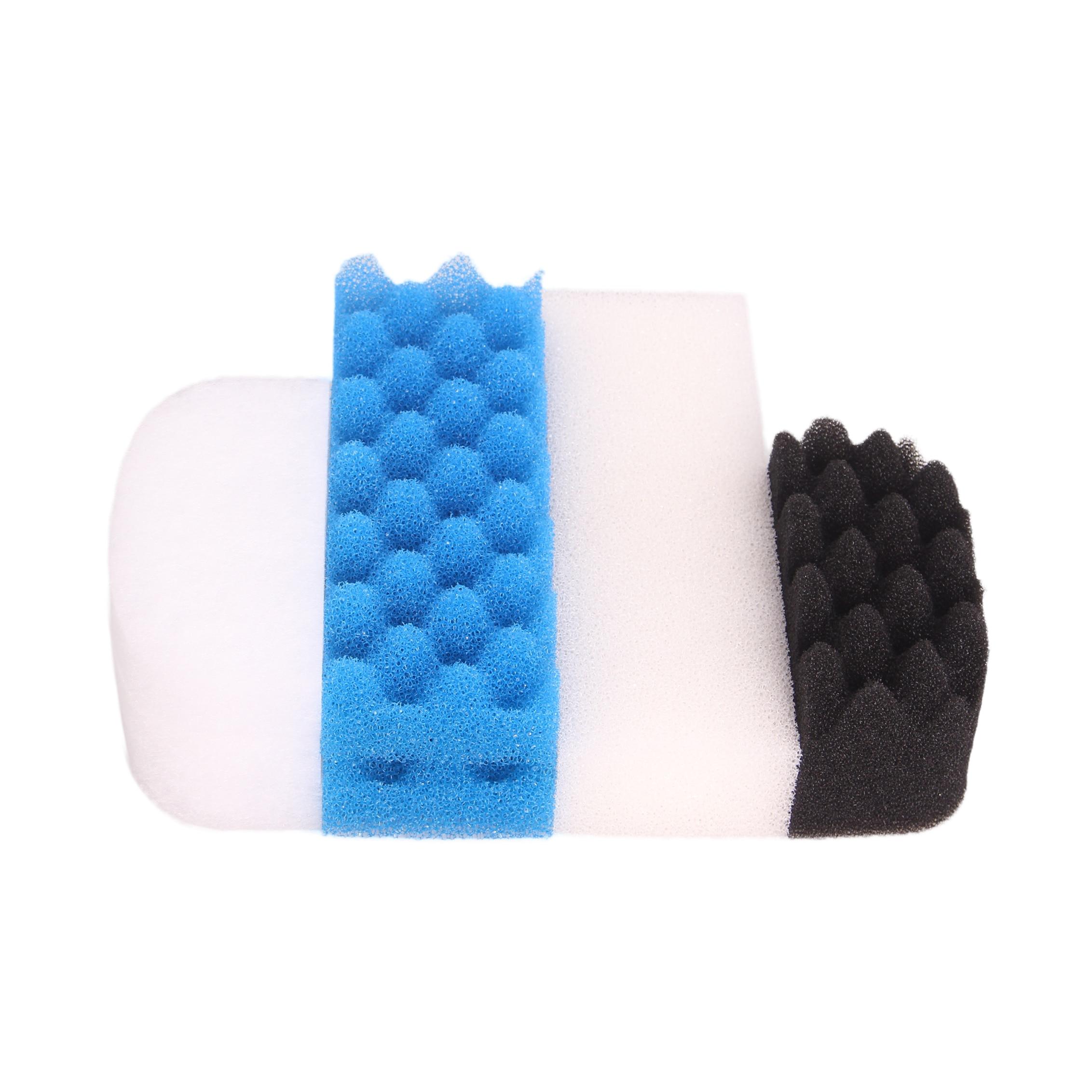 AUTUMNGREAT Compatible Value Pack Fit for Fluval 206 207 Filter (3x Polishing Pad, 2x Plain Foam, 1x Bio-Foam, 2x Bio Foam Max)