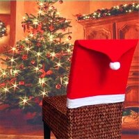 2020 explosive red soft feel non woven fabric christmas chair cover christmas table decoration christmas hat %d1%87%d0%b5%d1%85%d0%be%d0%bb %d0%bd%d0%b0 %d1%81%d1%82%d1%83%d0%bb