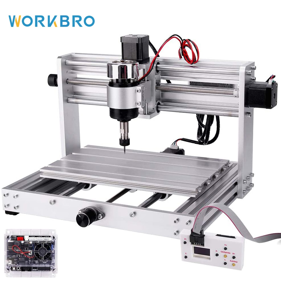 Upgrade CNC 3018 Max Engraver Machine GRBL Control 3 Axis Milling Engraving Machine Grade Wood Router with Offline Controller grbl cnc offline 3 axis controller board for 3018 pro 1610 2418 3018 engraving 28tc
