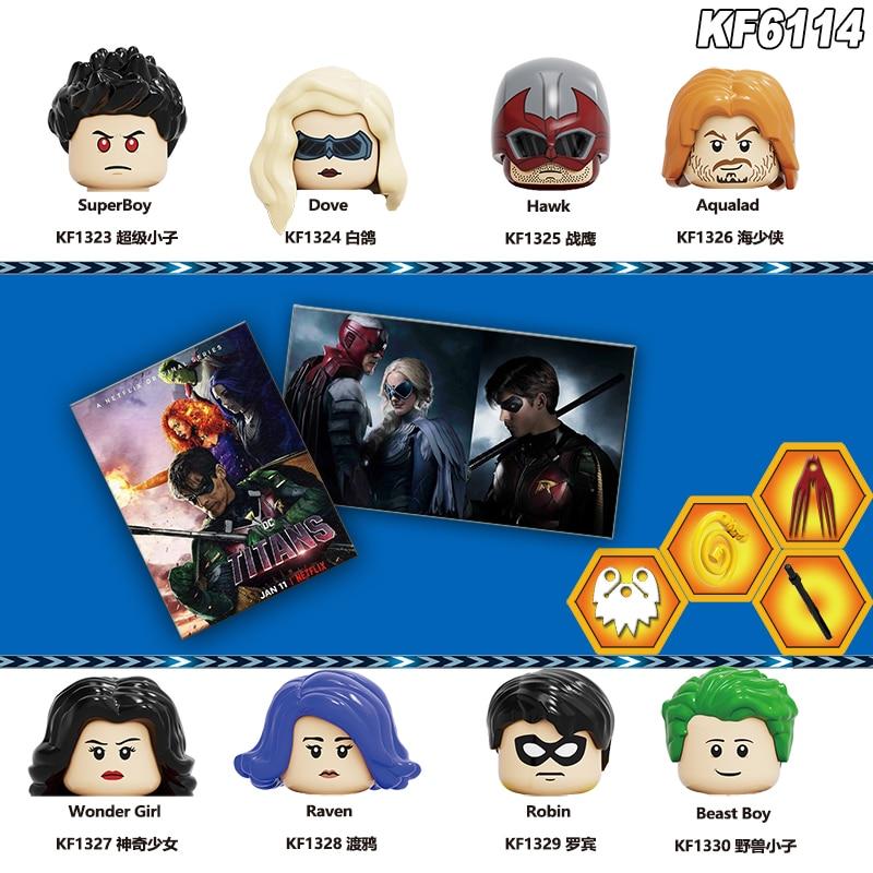 titans-season-action-figures-colomba-superboy-hawk-aqualad-raven-robin-beast-boy-building-blocks-per-bambini-giocattoli-di-apprendimento-kf6114