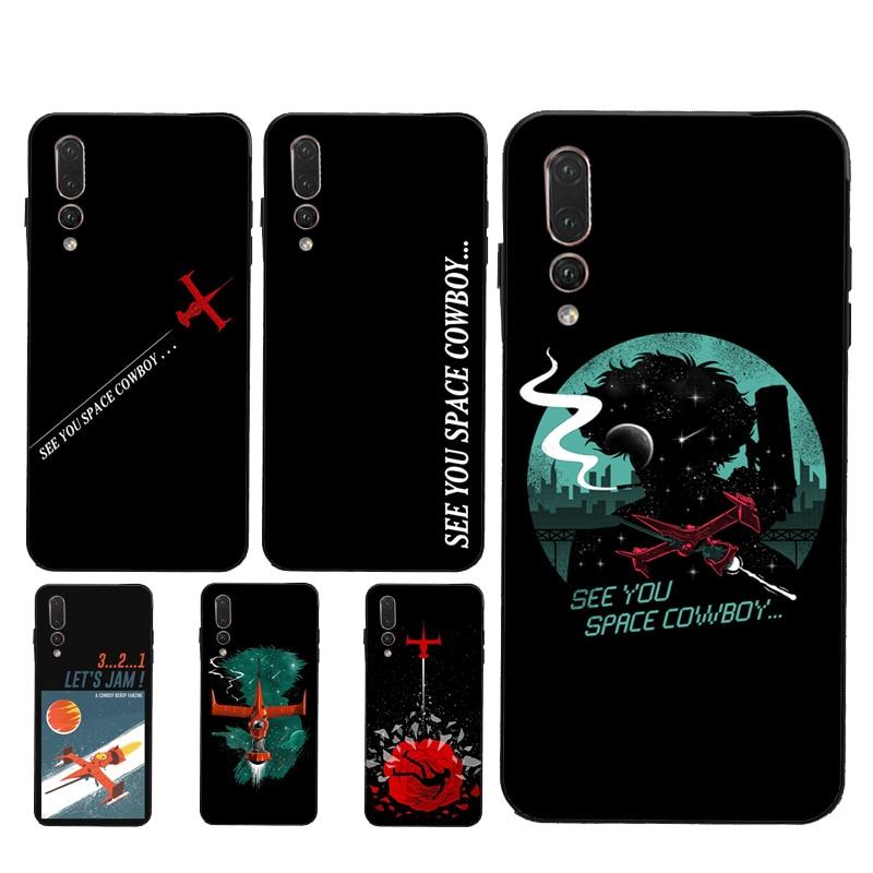 Funda See You Space Cowboy Bebop para Huawei Honor 10i 8X 9 20 10 Lite 7A Pro 7C 8A 8C 8S 9X Nova 5T Y6 Y9 Y7 2019