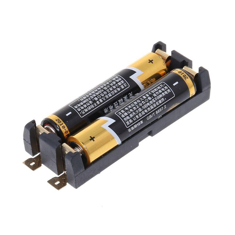 1.5V SMT SMD 2 pojemnik na baterie AAA PCB Case pojemnik schowek AAA bateria J6PB