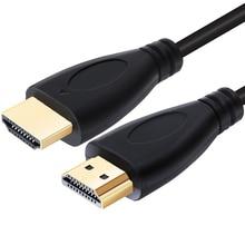 Cavo compatibile HDMI cavo Video ad alta velocità cavo 3D 1.4 1080P placcato in oro per Switcher Splitter HDTV 0.5m 1m 2m 3m 5m 10m 15m