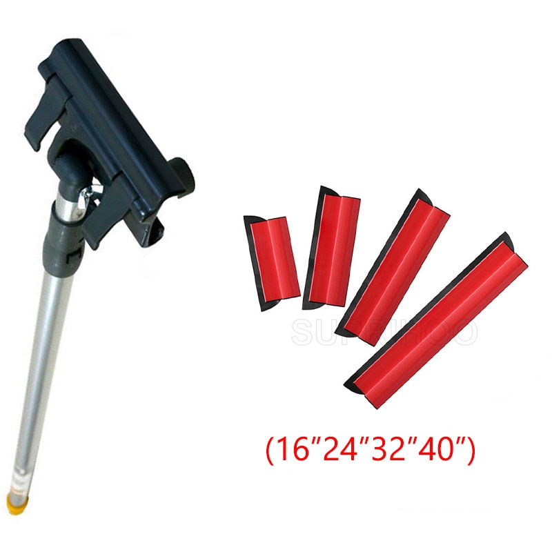 SUPRIHOO Skimmer Wall Extension Rod Assembly Kit Facilitates Use of 24 Inches/60cm May be Elongated to 2 m
