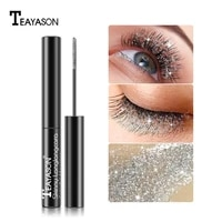 diamond mascara quick drying film broken glitter mascara glitter slender thick curling eyelashes waterproof makeup mascara