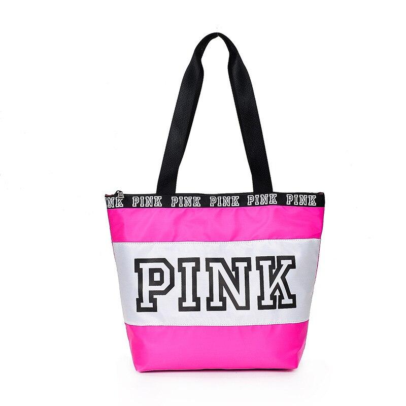 Фото - Модная дизайнерская розовая сумка, вместительные Наплечные сумки для девочек, сумка для покупок, сумка-тоут, дорожная сумка для женщин sabellino сумка sabellino 19ср 00296 21