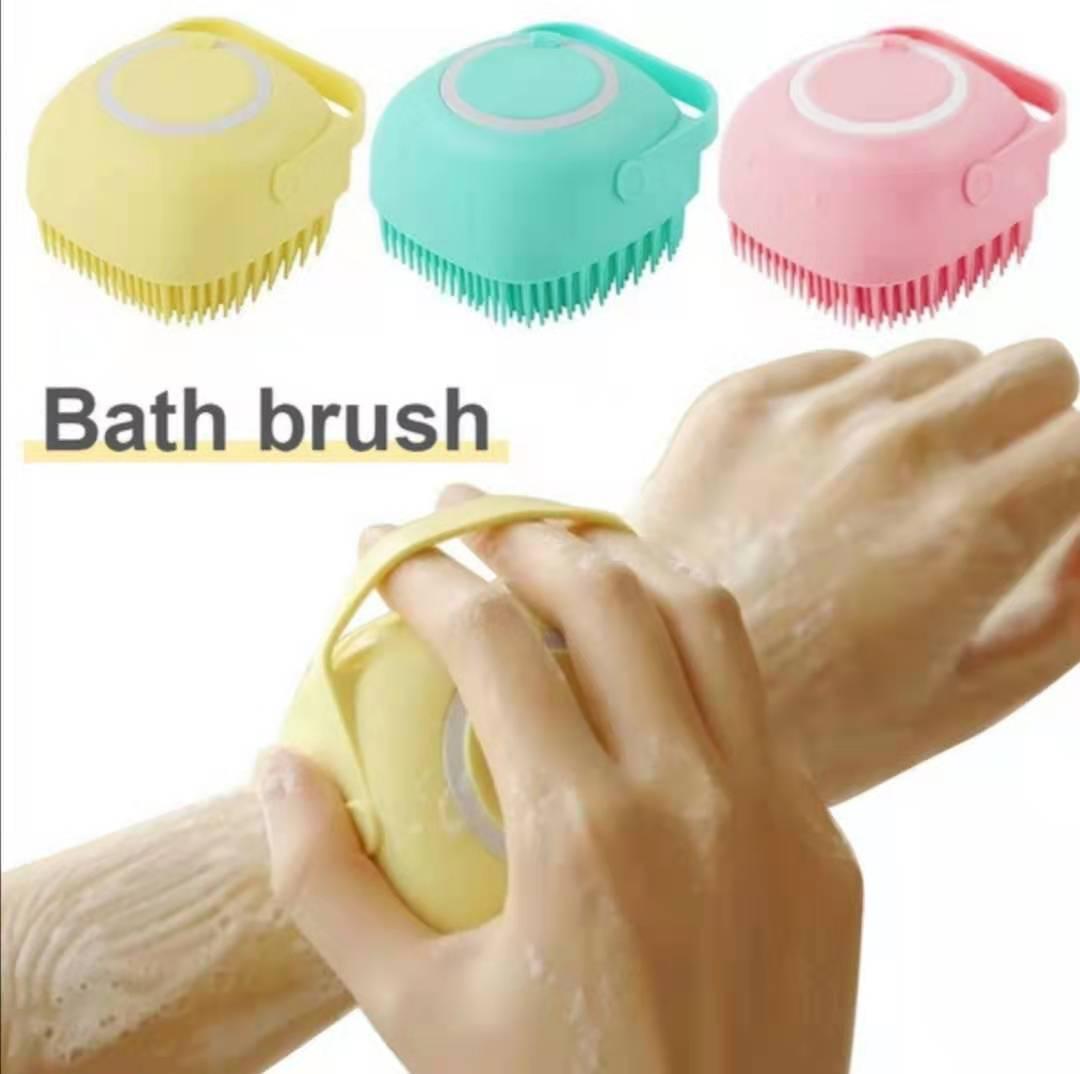 Cute Magic Silicone Brushes Bath Towels Body Brush Bath Belt Exfoliating Wash Skin Household Clean Shower Brushes